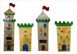 Комплект бизибордов Замок
