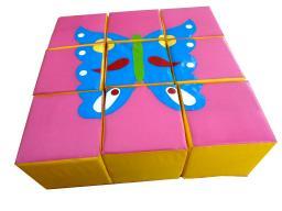 Развивающий модуль «Кубики — сложи аппликацию»