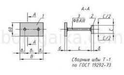 Закладная деталь МН 101-3