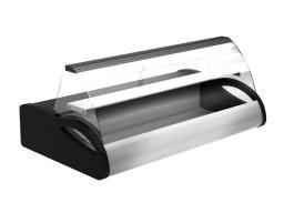 Витрина настольная ПОЛЮС ВХС-1,0 Арго (black&steel)