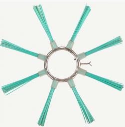 Щётка пучковая ø120х550 (Полипропиленовые , сечений ворса 1,5 мм.)