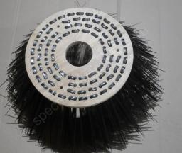 Лотковая щетка 100х400 на ЭД-244КМ (Bucher Citifant 6000)