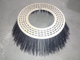 Лотковая щетка (400х700) металлическая