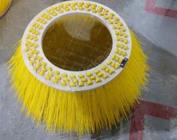 Лотковая щетка (550х800) 3-х рядная полипропиленовая