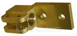 Зажим контактный 250кВа М16х2,0 латунь