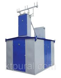 Подстанция трансформаторная КТПН-Т-В/В 25/10/0,4 с РВЗ или ВНА тупиковая