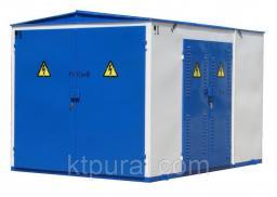 Подстанция КТПН-Т-К/К 63/10/0,4 с РВЗ или ВНА тупиковая