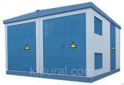 Подстанция двухтрансформаторная 2КТП 100 кВа