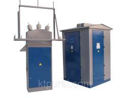 Подстанция КТПН-Т-В/К 100/10/0,4 с РВЗ или ВНА тупиковая