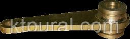 Рычаг сцепляюще-расцепляющих устройств (в сборе)  5СЯ.231.281