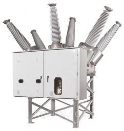 Элегазовый баковый выключатель 110кВ 145PM