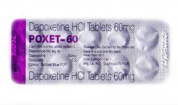 Дапоксетин (Примаксетин) Poxet 60mg