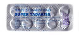 Супер сиалис с дапоксетином - Super Tadarise