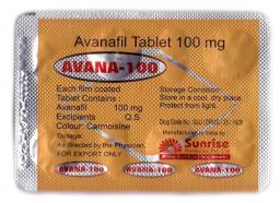 Аванафил Avana-100 (1 таблетка)