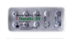 Duratia 30мг (Дапоксетин)