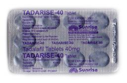 Сиалис в двойной дозировке 40 мг - Tadarise 40