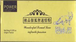 Серебряная лиса - 4 пакетика (возбудитель для женщин)