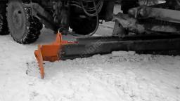 Дополнительное крыло к среднему отвалу автогрейдера
