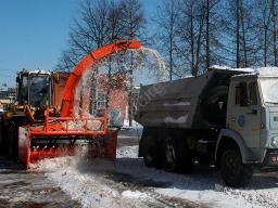 Снегопогрузчик СП-010