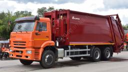 Мусоровоз МЗ 22 (EFE) (22 куб. м.) на базе КАМАЗ-6520-53 дизель