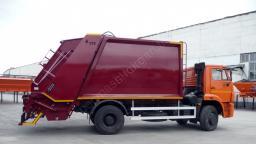 Мусоровоз МЗ 15 (EFE) (15 куб. м.) на базе КАМАЗ-53605-32 дизель