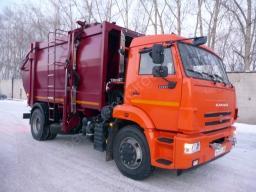Мусоровоз МБ18 (18 куб. м.) на базе КАМАЗ-43253