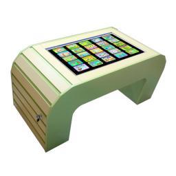 Интерактивный развивающий стол «Зебрано»