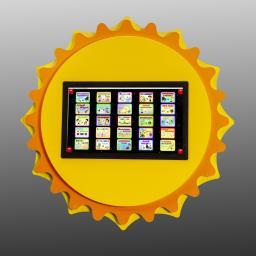 Развивающая настенная панель «Солнышко»