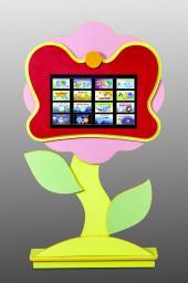 Развивающая пристенная панель «Цветок»