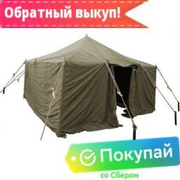 Конструкция палатки С центральным колом