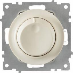 Светорегулятор 600 W для ламп накаливания и галогенных ламп (серия Florence) (Цвет бежевый)
