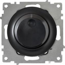Светорегулятор 600 W для ламп накаливания и галогенных ламп (серия Florence) (Цвет черный)