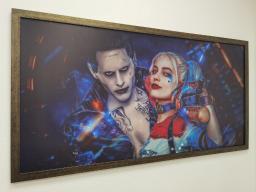 Картина - Постер (Джокер). Размер: 650x1270 мм