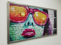 Картина - Постер (Арт Очки). Размер: 650x960 мм.