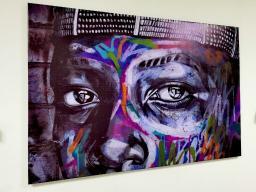 Картина - Постер (Стрит Арт). Размер: 800x1200 мм.