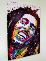 Картина - Постер (Bob Marley). Размер: 900x600 мм.