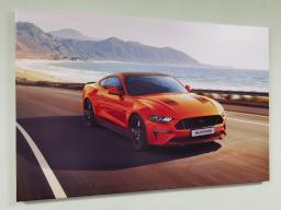 Картина - Постер (Ford Mustang). Размер: 600x900 мм.