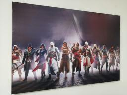 Картина - Постер (Ассасины). Размер: 600x900 мм.
