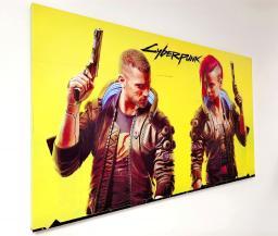 Картина - Постер (Cyberpunk 2077). Размер: 600x1000 мм.