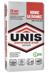UNIS Клей плиточный для мозайки БЕЛФИКС 25кг