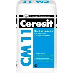 СМ 11 Клей для керамической плитки CERESIT/Церезит 25кг