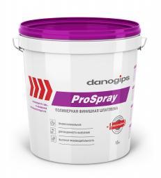 DANOGIPS шпатлевка гот.финишная ProSpray маш.нанесения Шитрок 15л/25 кг