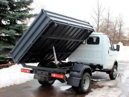 Вывоз строительного мусора самосвалом Соболь