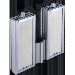 Уличный консольный светодиодный светильник 96Вт 4000К IP67 13440Лм (VRN-UNE-96D-G40K67-K)