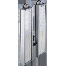 Уличный консольный светодиодный светильник двойной 160Вт 4000К IP67 22400Лм (VRN-UNE-160D-G40K67-K)