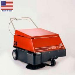 Аккумуляторная подметальная машина Factory Cat Sweeper 34