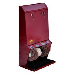 Аппарат для чистки обуви с монетоприемником и электронным помощником (табло) Estetika Plus