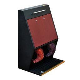 Аппарат для чистки обуви с монетоприемником и электронным помощником (табло) Elite Light