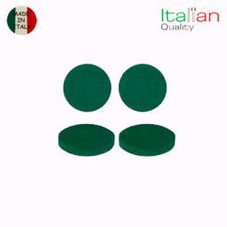 Комплект зеленых размывочных кругов