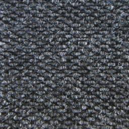 Грязезащитный ворсовый ковер «York» черный
